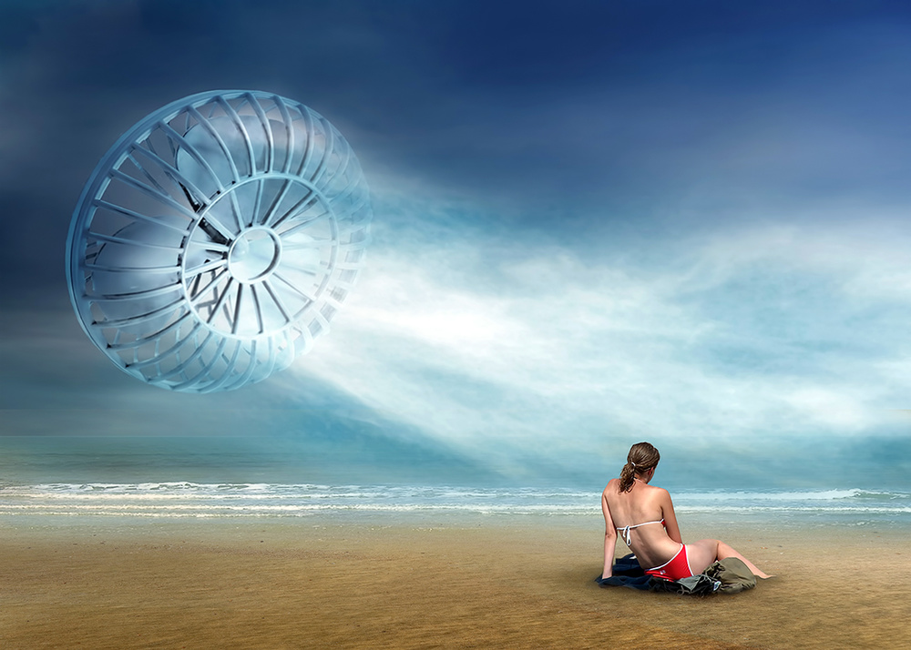 A piece of fine art art photography titled Air Conditioned by Ben Goossens