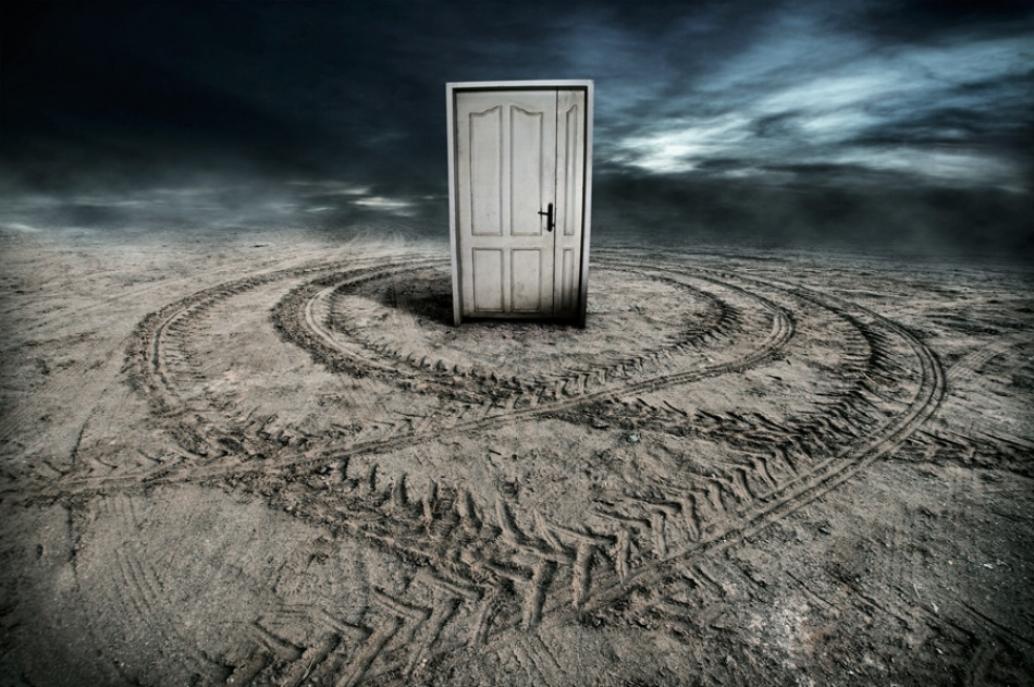 A piece of fine art art photography titled Door by pooya ahmaripour