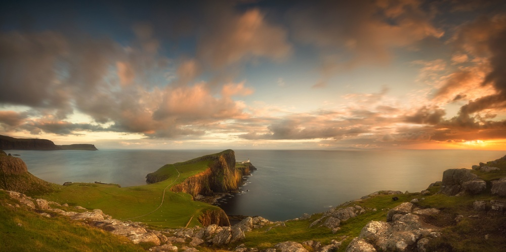A piece of fine art art photography titled Neist Point by Iñigo Barandiaran