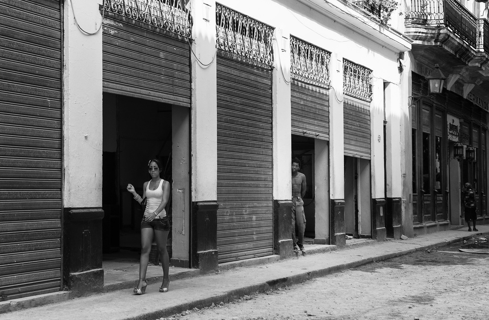 A piece of fine art art photography titled In Havana by Andrei Nicolas - The Traveler