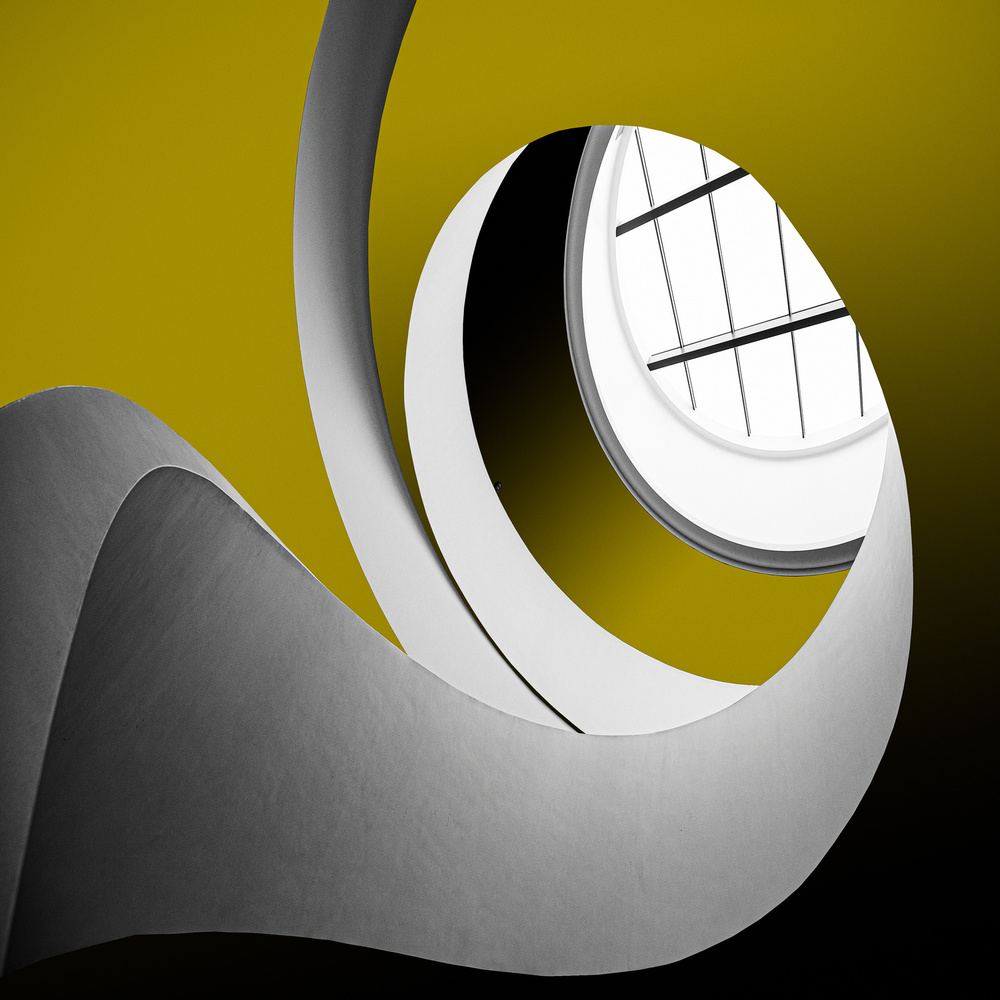 View this piece of fine art photography titled Spiral staircase by Inge Schuster