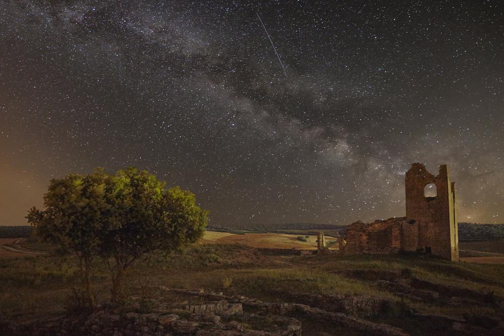 A piece of fine art art photography titled Baigorri (Navarre) Spain by Martin Zalba