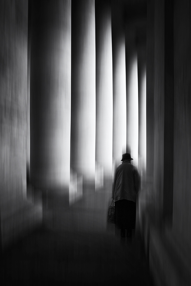 View this piece of fine art photography titled Columns #1 by Massimo Della Latta