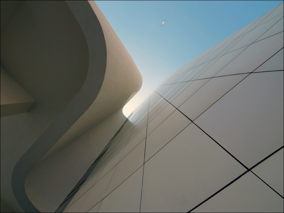 A piece of fine art art photography titled Macba by sensorfleck