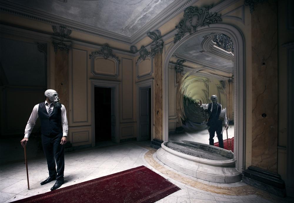 A piece of fine art art photography titled Le Portail Des âmes by Sebastien DEL GROSSO