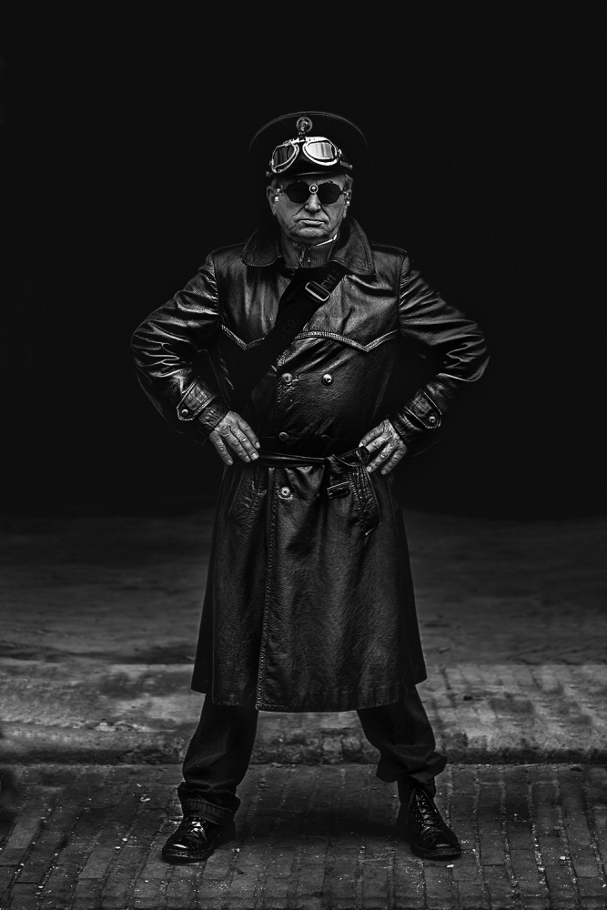 A piece of fine art art photography titled Steampunker by Graziano Racchelli
