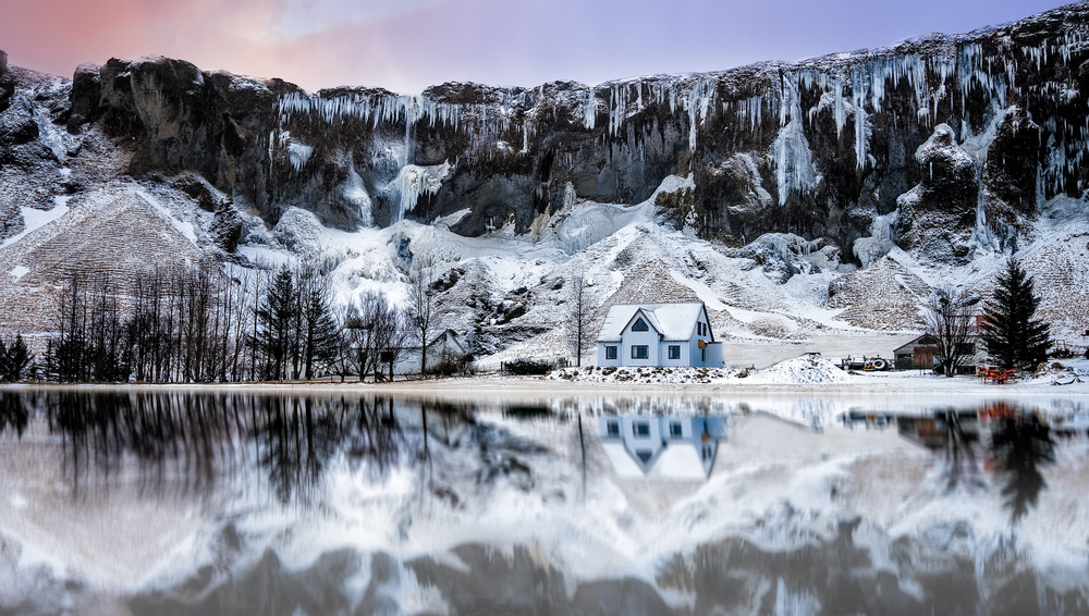 A piece of fine art art photography titled Cold by Lior Yaakobi