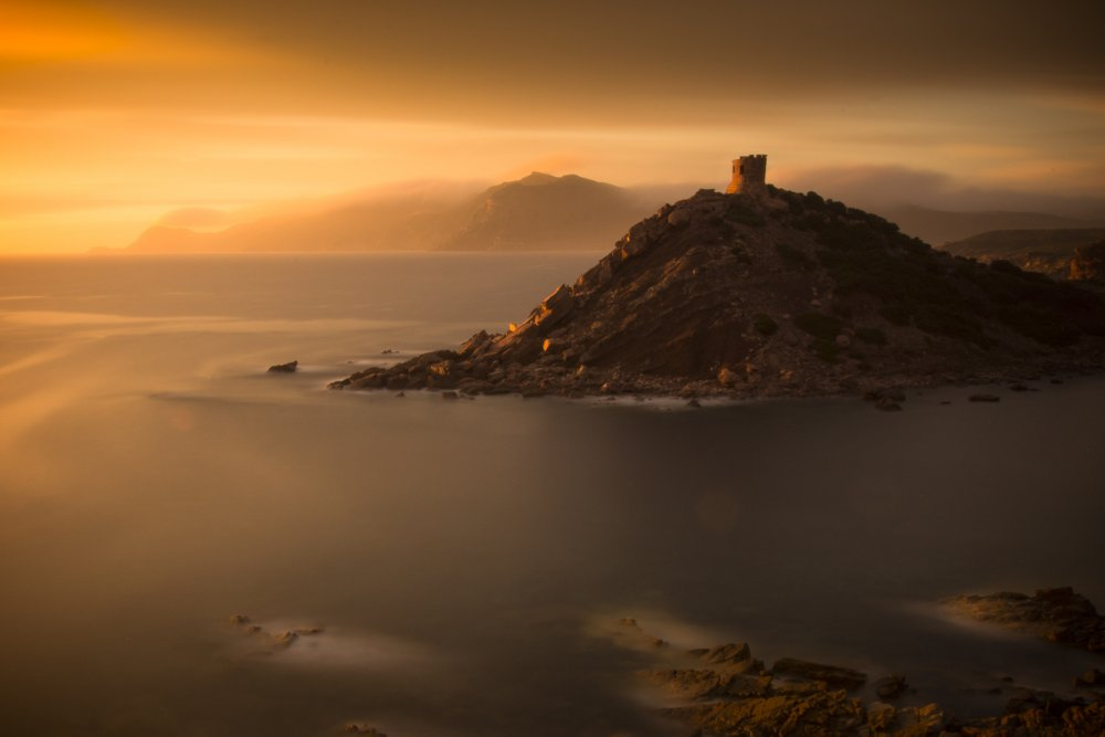 A piece of fine art art photography titled Torre Del Porticciolo 2 by Mattias Sjölund