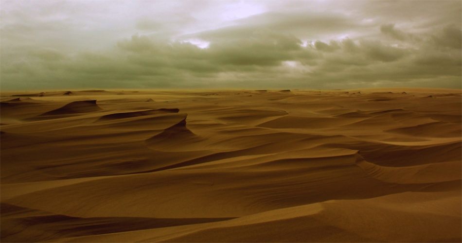 A piece of fine art art photography titled Sand by Ole Nielsen