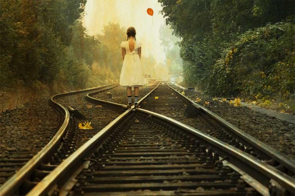 A piece of fine art art photography titled The Journey by Christine von Diepenbroek