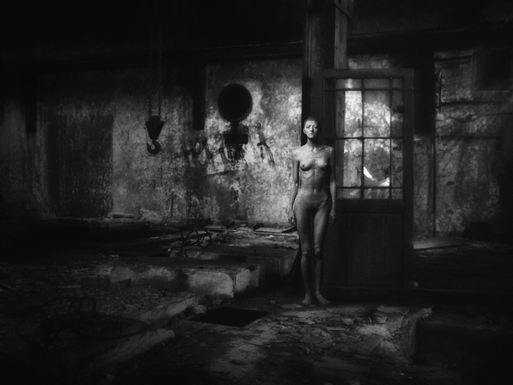 A piece of fine art art photography titled When Angels No More Fly  by holger droste