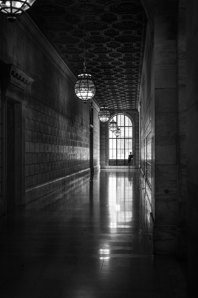 A piece of fine art art photography titled Alone In One's Thoughts by Kevin Ng