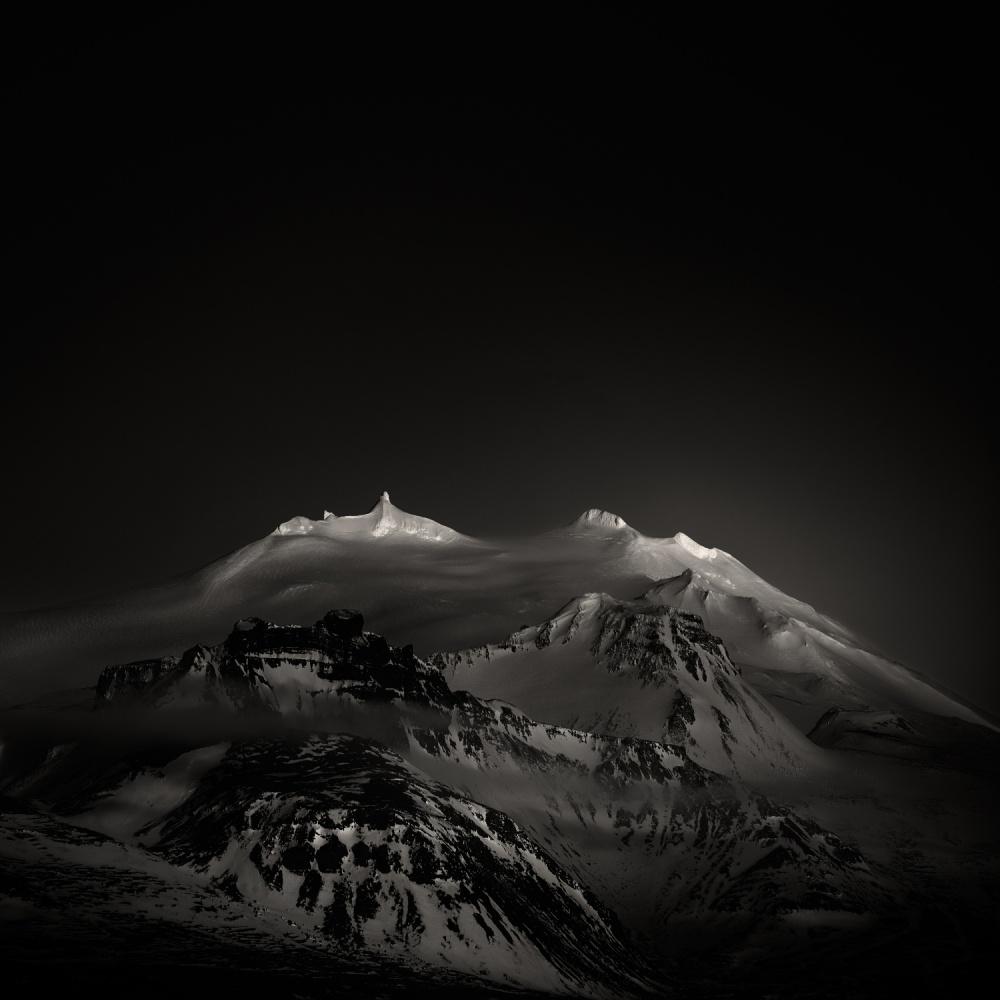 A piece of fine art art photography titled ⁜ Dark, Dark My Light, and Darker My Desire by Andy Lee