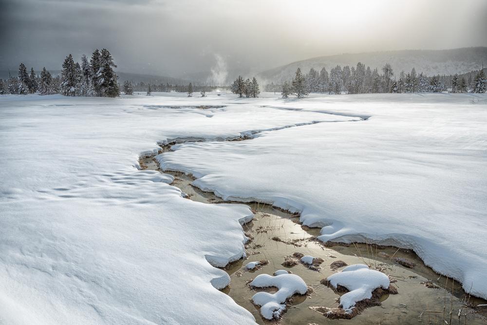 Winter at Yellowstone