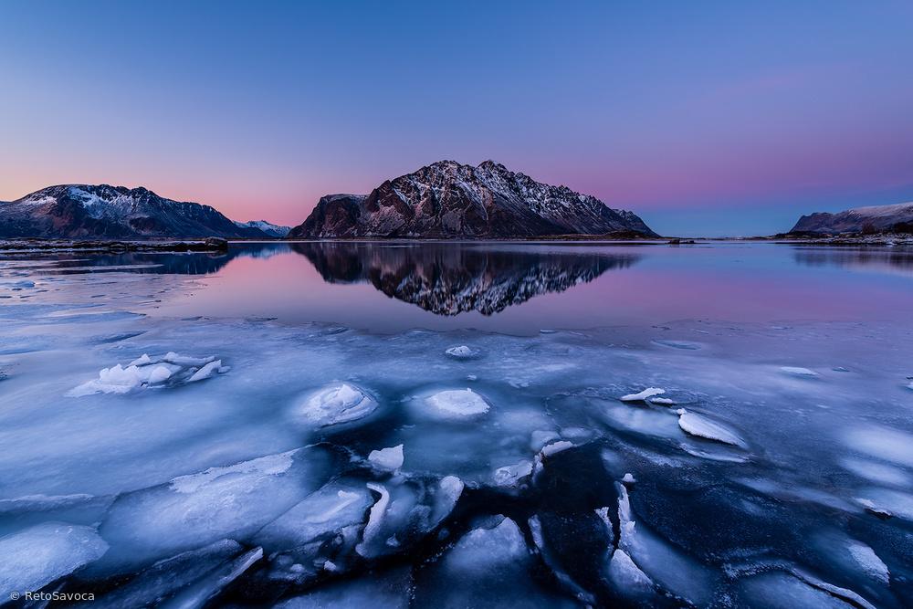 Ice dusk