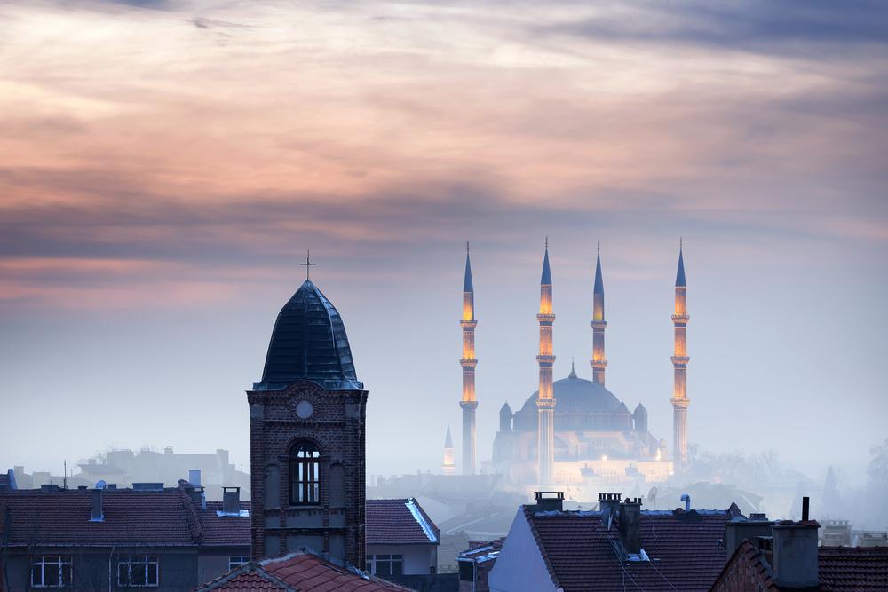 Selimiye Mosque & Church Sweti Georgi