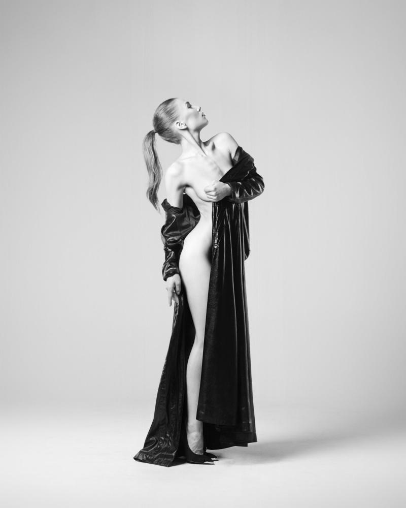 A piece of fine art art photography titled Miriam by Arkadiusz Branicki