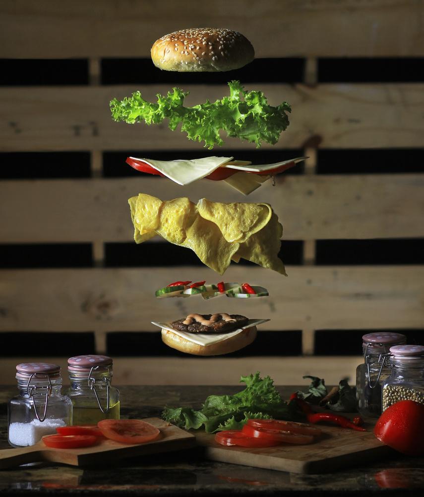 A piece of fine art art photography titled U Hungry ? by Rezamoto