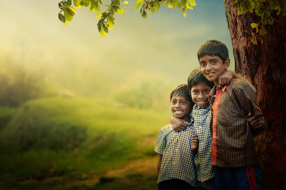 A piece of fine art art photography titled Simple Life by Enjo Mathew