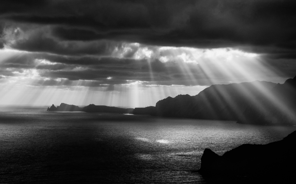 A piece of fine art art photography titled Morning Rays by ArtFiction (Andre Gehrmann)