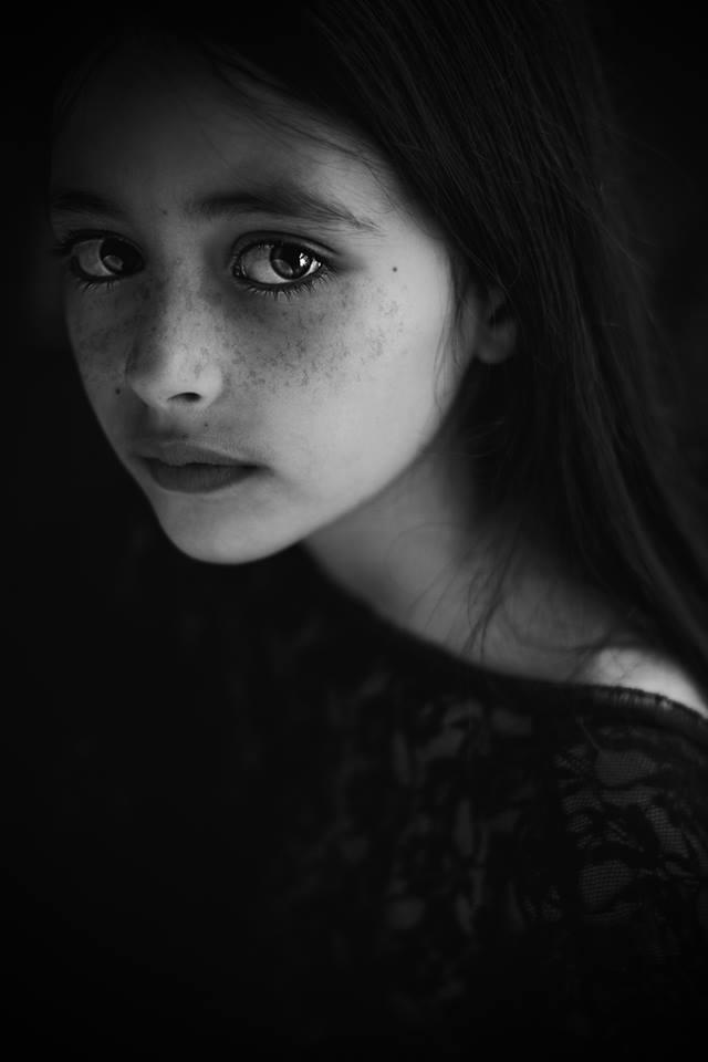 A piece of fine art art photography titled Sarah by fatima cherkaoui