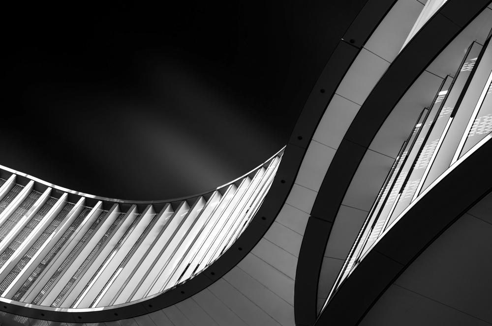 A piece of fine art art photography titled Split Lines by Gerard Jonkman