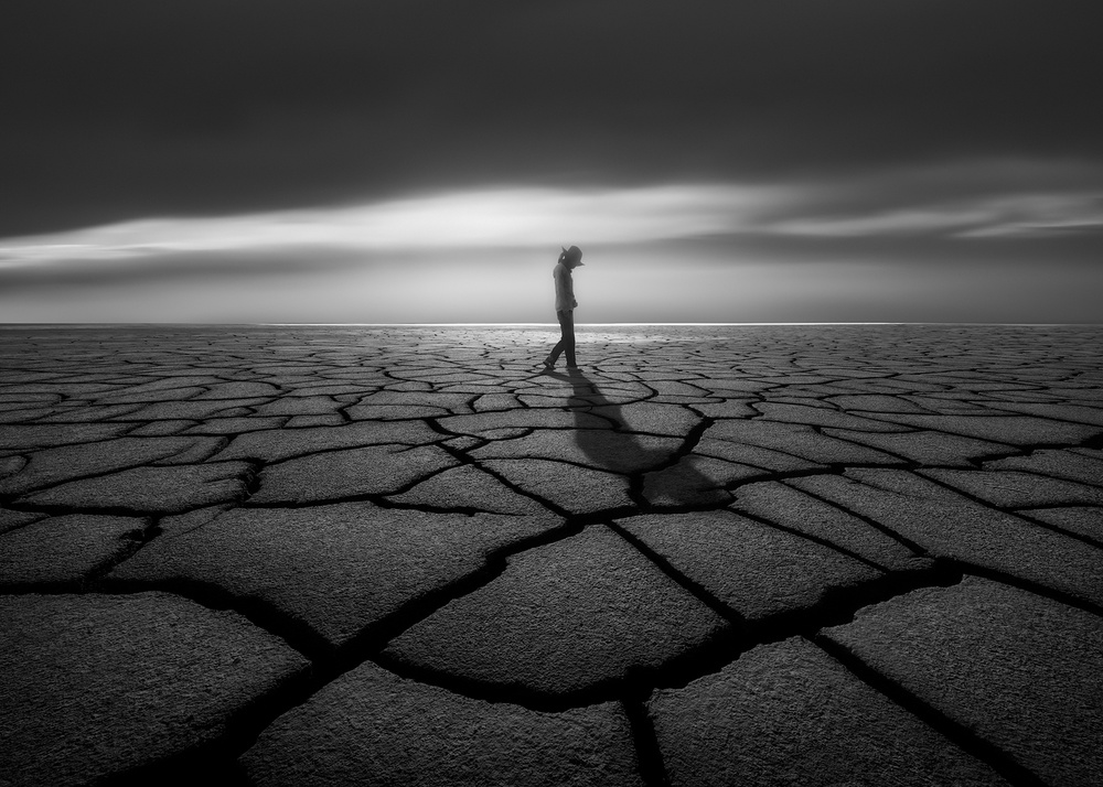 A piece of fine art art photography titled Lost In a Dream by Wenmin Zhang