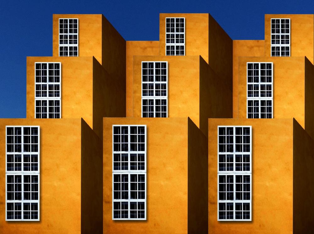 A piece of fine art art photography titled Orange County 02 by Aleksandar Naumceski