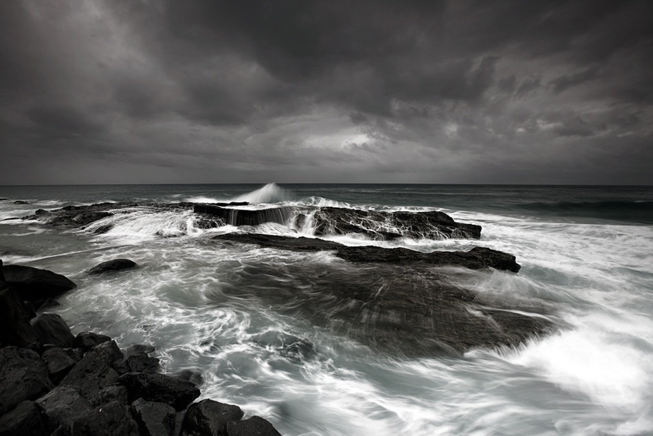 A piece of fine art art photography titled After the Storm by Mel Brackstone