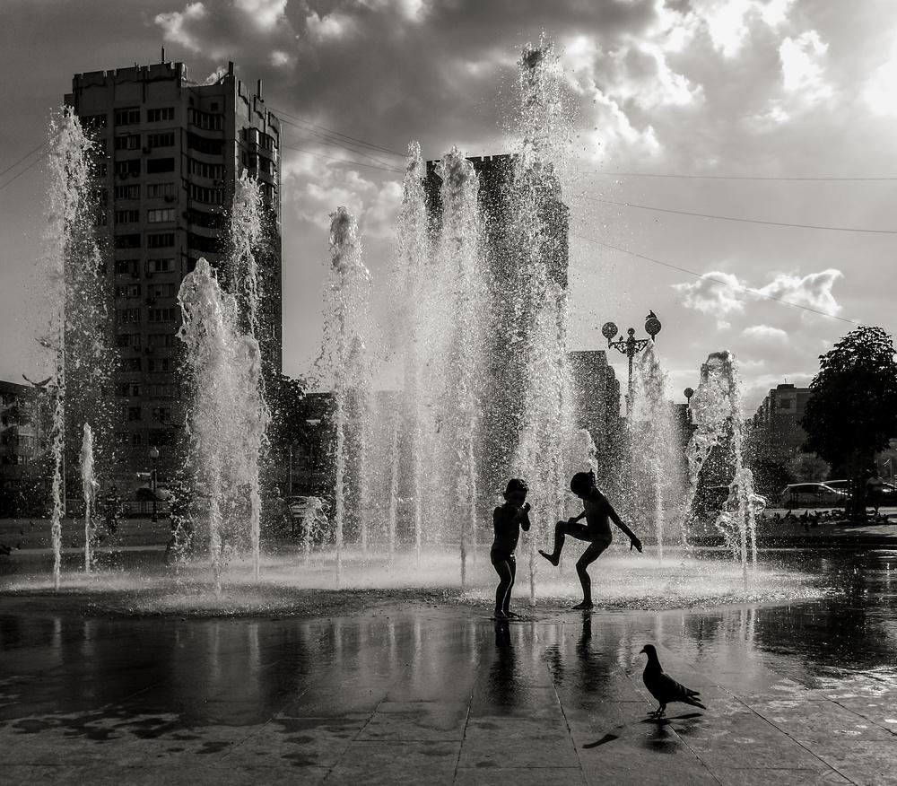 A piece of fine art art photography titled Summer Time by Dmitry Nesvetaylov