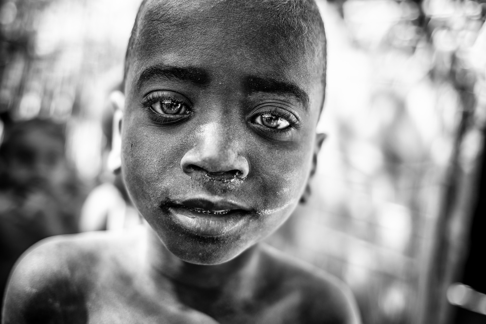 A piece of fine art art photography titled Eyes of Africa by Marco Tagliarino