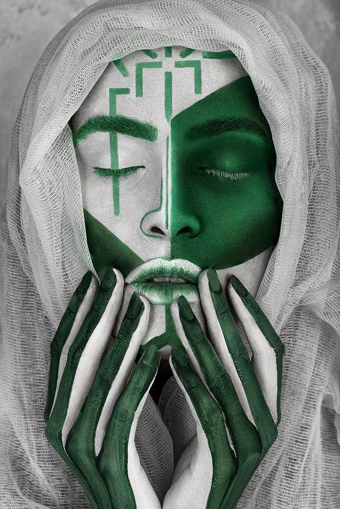 A piece of fine art art photography titled Origin by Anna