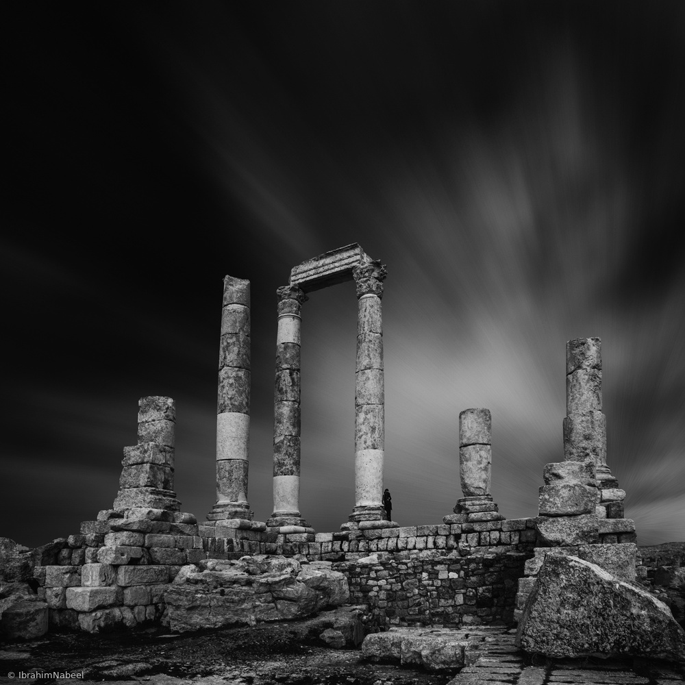 View this piece of fine art photography titled Mount of the Citadel - Amman by zhaoqi
