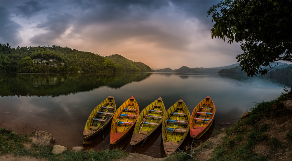 A piece of fine art art photography titled Calmness Charm by khalid jamal