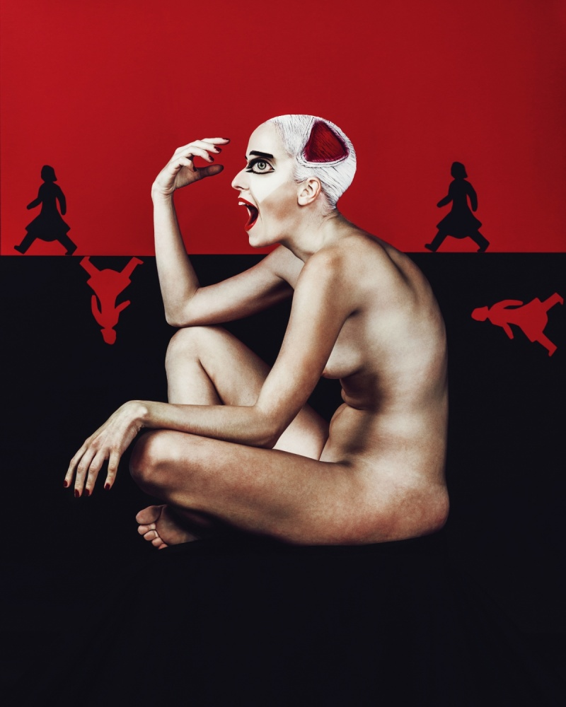 A piece of fine art art photography titled Trauma by Sergei Smirnov