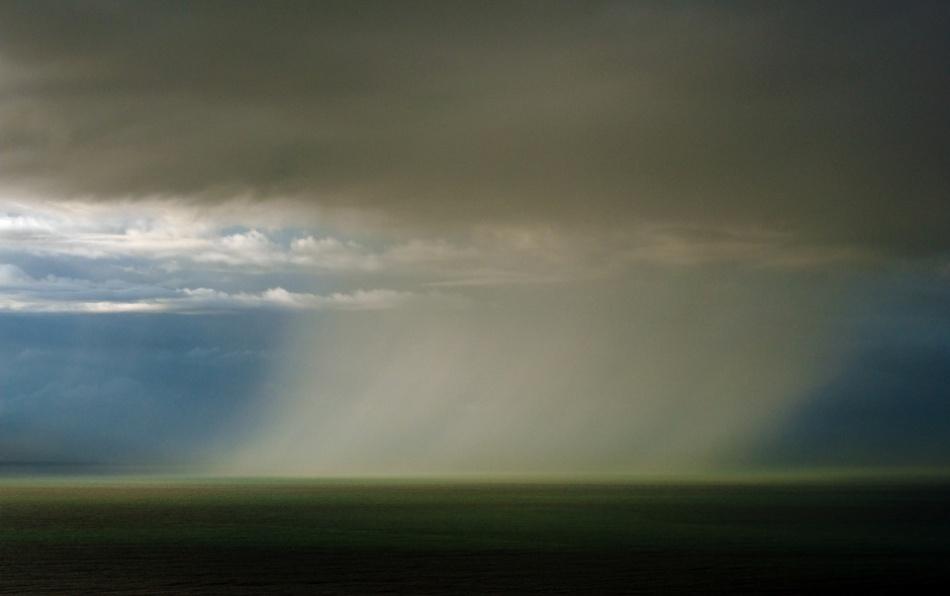 A piece of fine art art photography titled Rain Curtain by Paolo Giudici