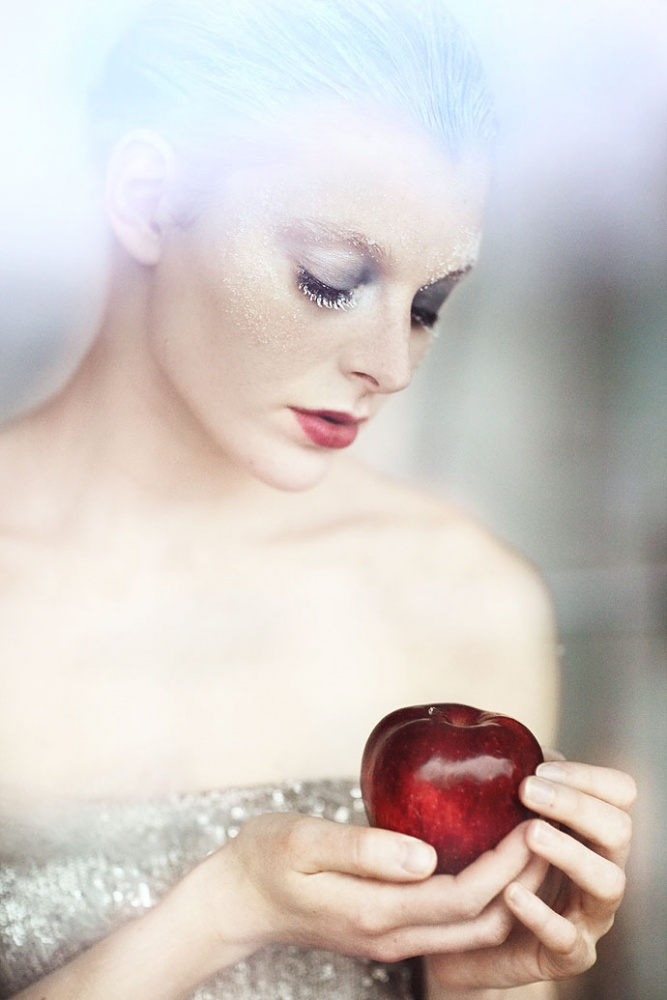 A piece of fine art art photography titled Snowwhite by anna.s.