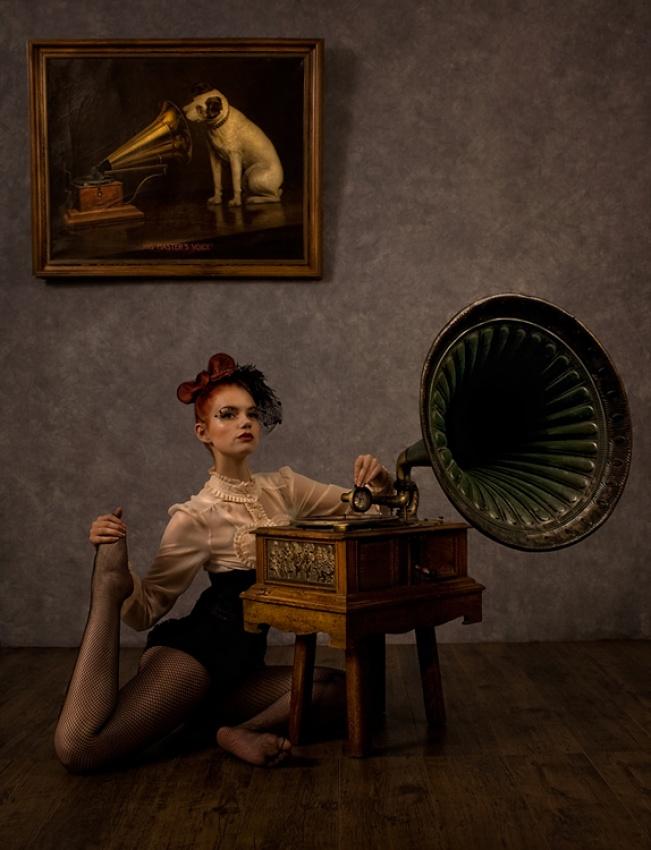 A piece of fine art art photography titled Her Mistress Feet by Peter Kemp
