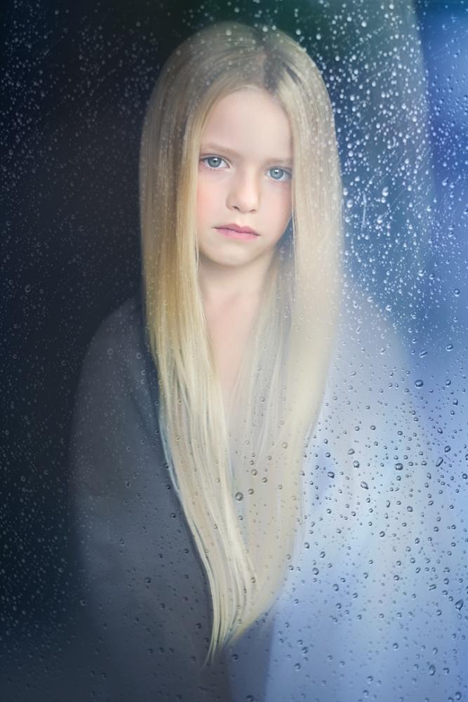 A piece of fine art art photography titled Rain In My Heart by Greta Do