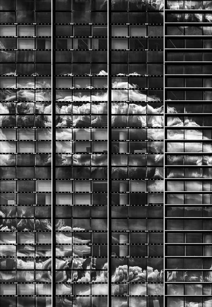 A piece of fine art art photography titled Facade Art by Greetje van Son