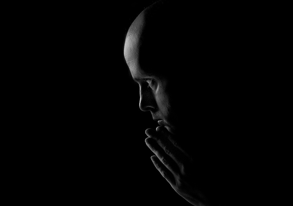 A piece of fine art art photography titled A Dark Thought by Johannes Bjønness-Jacobsen