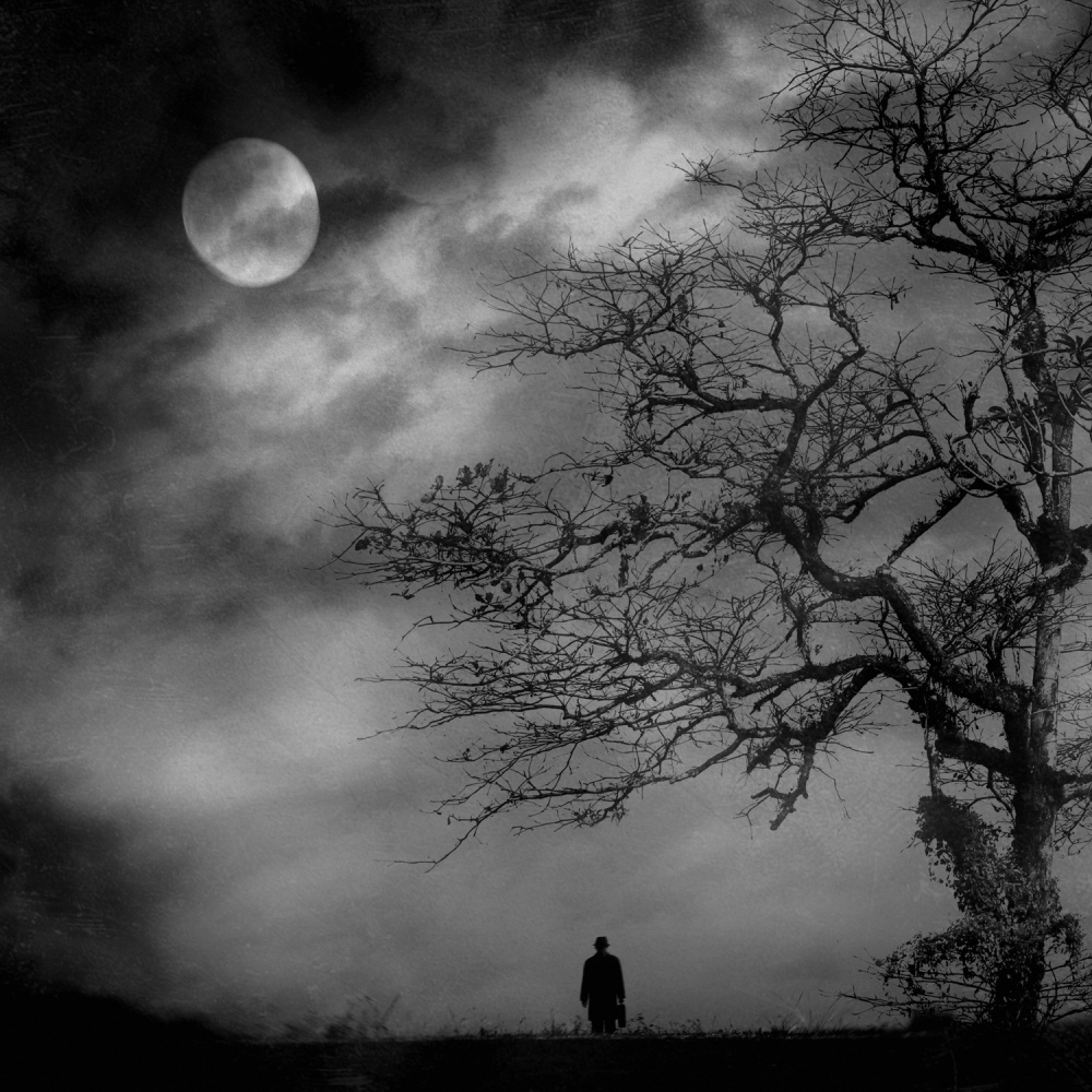 A piece of fine art art photography titled This Darkness by jay satriani