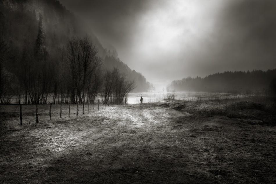 A piece of fine art art photography titled Rêve D\'une Lumiere by Pierre poulard