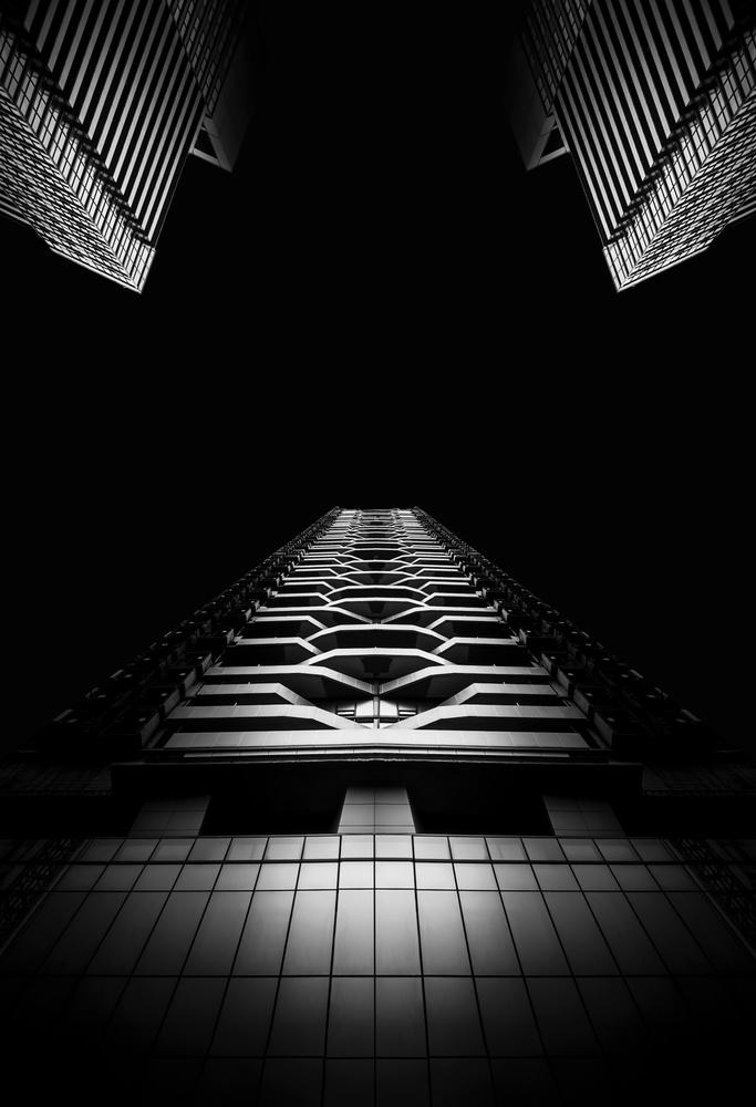 A piece of fine art art photography titled Toronto City by Oussama Mazouz