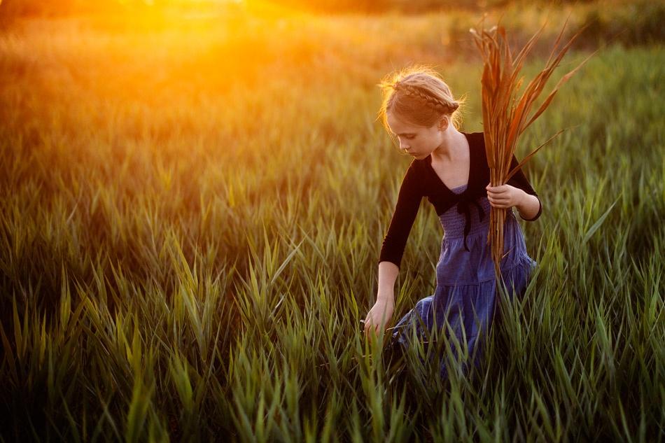 A piece of fine art art photography titled Ivy by Elena Karagyozova