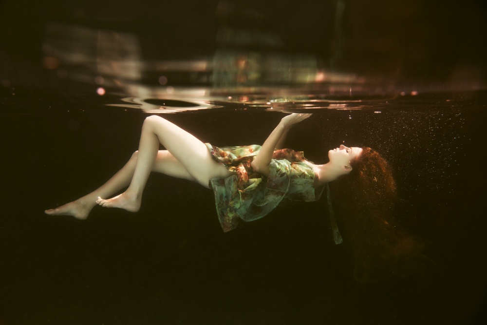 A piece of fine art art photography titled The Other Side by Gabriela Slegrova