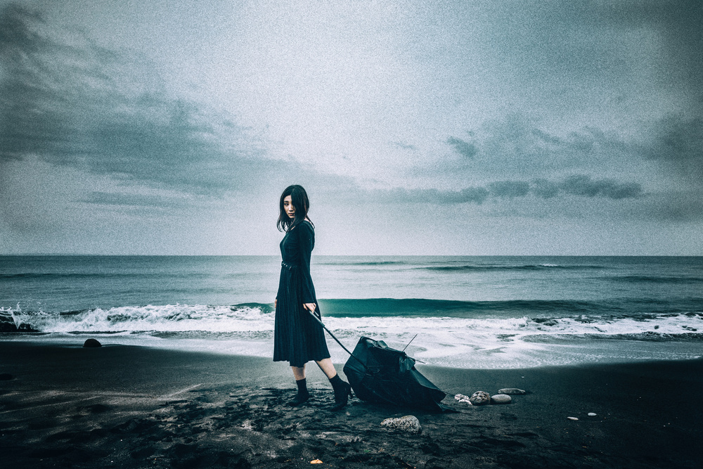A piece of fine art art photography titled Stormy Seas by Daisuke Kiyota