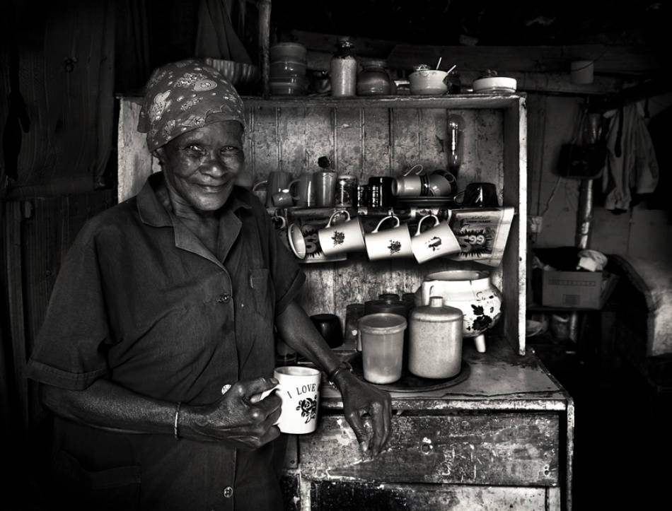 A piece of fine art art photography titled Mara at Home by Andre du Plessis FRPS