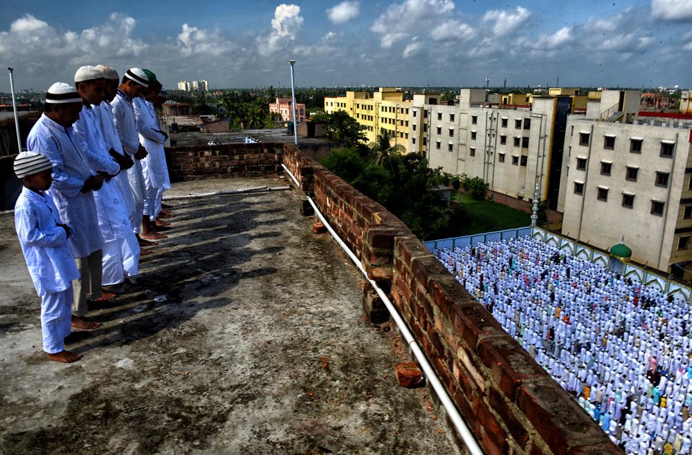 A piece of fine art art photography titled Ramadan Prayer by Avishek Das