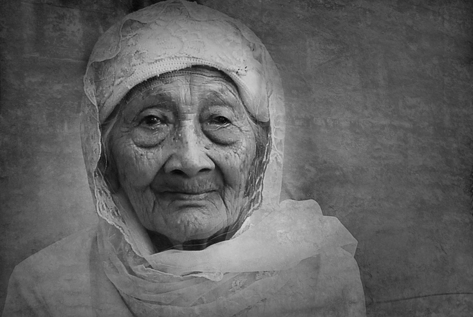 A piece of fine art art photography titled Grand Mom by Saepul Jamal { S-je }